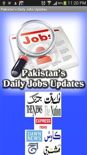 Pakistani Job News