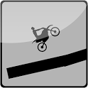 2D Gravity Motorcycle icon