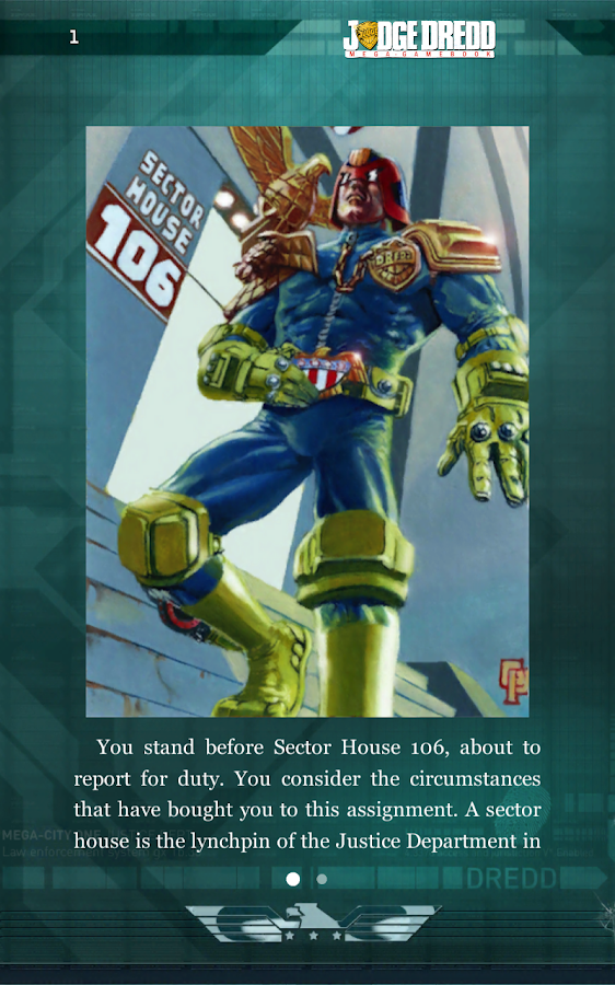 Judge Dredd: Countdown Sec 106 - screenshot