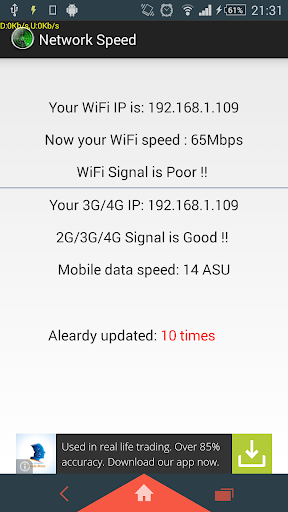 Your Network Speed
