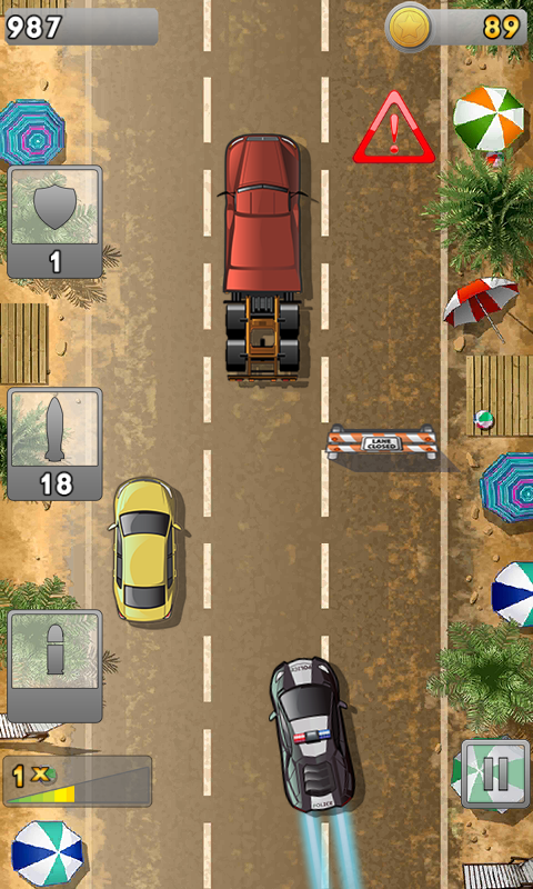 Police Rocket Racing- screenshot
