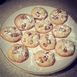 Thumbprint Shortbread Cookies