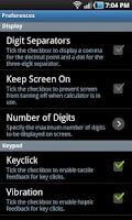 Screenshot of HD 12c Financial Calculator