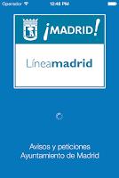 Screenshot of Avisos Madrid