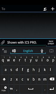 GO Keyboard ICS Skin- screenshot thumbnail