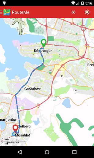 RouteMe Iceland|玩旅遊App免費|玩APPs