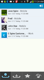 C Spire Visual Voicemail- screenshot thumbnail