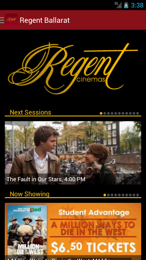 Regent Entertainment- screenshot