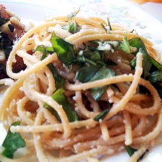 Calabrese Style Spaghetti.