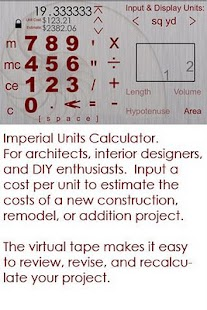 Home Builder's Calculator - screenshot thumbnail