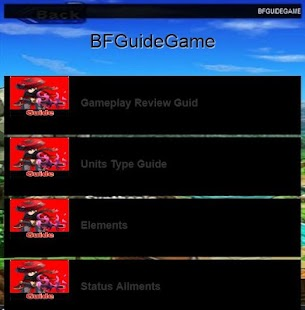 BF Guide For New Players