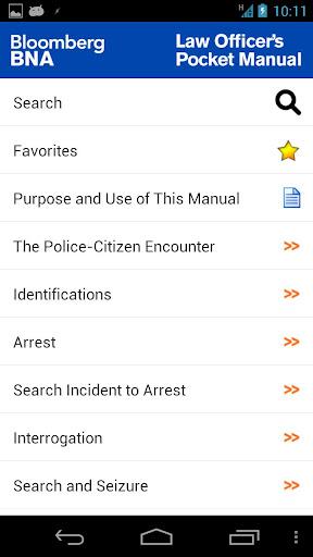 Law Officer's Pocket Manual