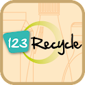 123Recycle logo