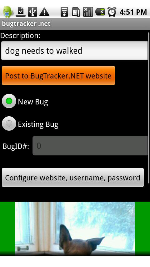 BugTracker.NET for Android - screenshot