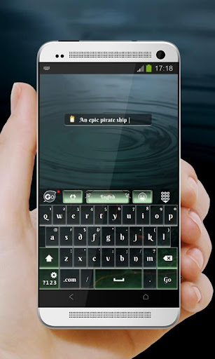 【免費個人化App】海盜船 GO Keyboard-APP點子