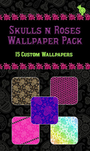 Skulls N Roses Wallpaper Pack