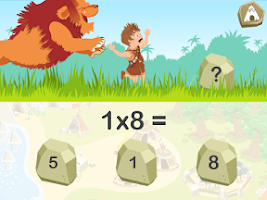 Screenshot of Tables de multiplication