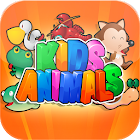 4-in-1 Kids Animal Games icon