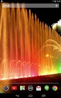 Screenshot of Fountains Live Wallpaper