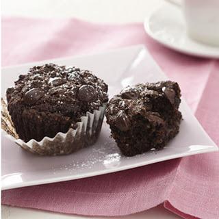 Mariska's Joyful Heart Fudge Chip Muffins
