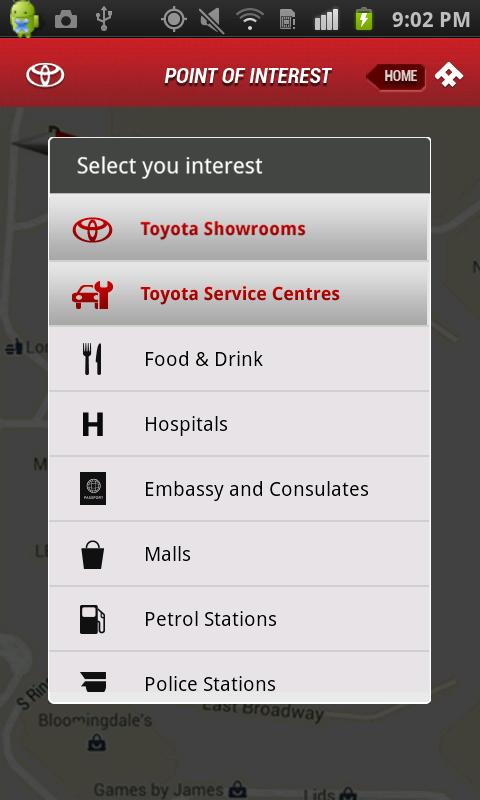 Toyota Touch - screenshot