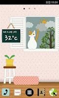 Screenshot of [Shake] Cat and Weather