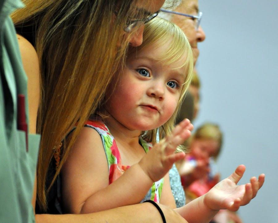 by Tammy Price - Babies & Children Children Candids ( girl, happy, pround, baby, toddler, clapping )