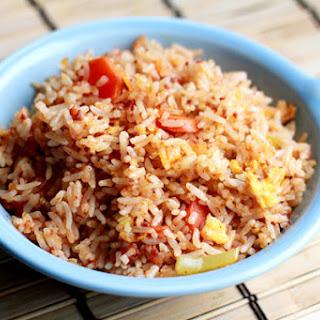 Chorizo Fried Rice.