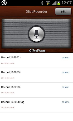OliveRecorder