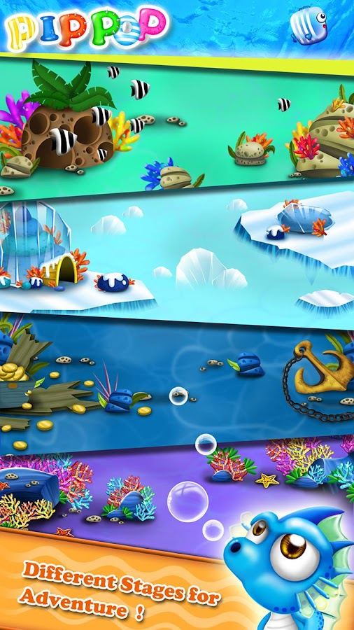 Pip Pop - Ocean Matching Game- screenshot