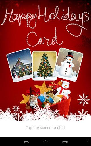 Christmas Card: Snowman Santa