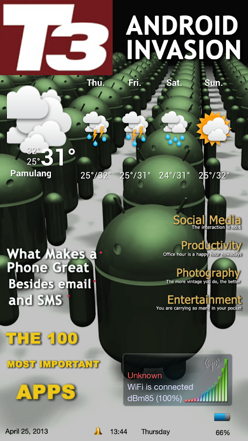 Magazine 1 Theme ssLauncher OR- screenshot