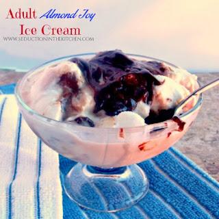 Adult Almond Joy Ice Cream