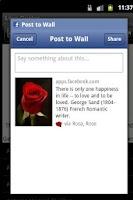 Screenshot of Send Rose Love Quotes