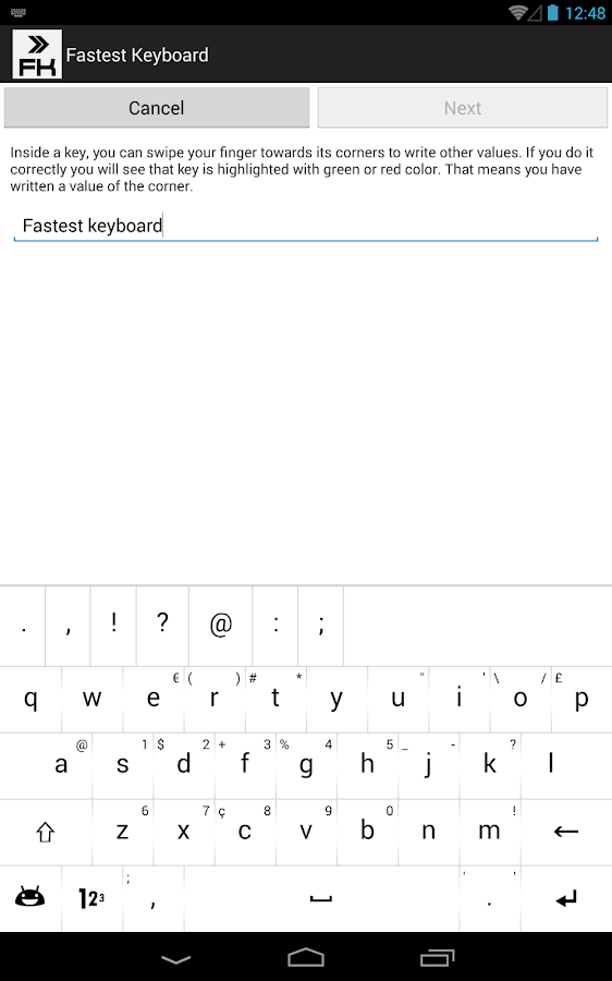 Fastest Keyboard Customizable- screenshot