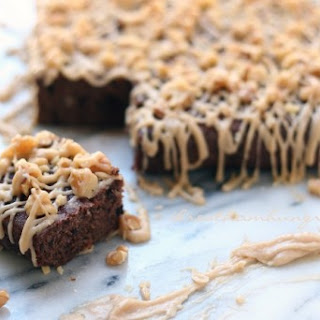 Caramel Nut Brownies – Low Carb and Gluten Free