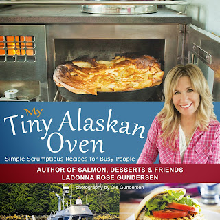 Oven Baked Apple Puffed Pancake Recipe and a Review for My Tiny Alaskan Oven Cookbook