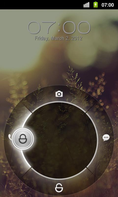 GhostSlider - MagicLockerTheme - screenshot