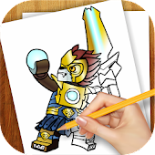 Learn to Draw Lego Chima