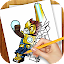 Free Download Learn to Draw Lego Chima APK for Samsung