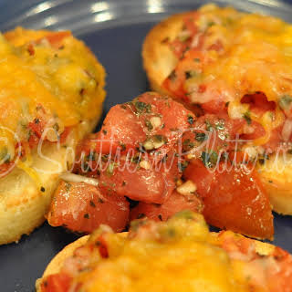Bruschetta (Tomato Stuff On Bread).