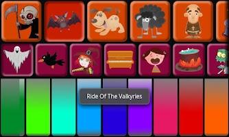 Screenshot of Kids Halloween Piano Free