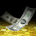 Falling Money 3D Wallpaper icon