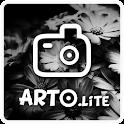Arto.lite: black & white photo icon