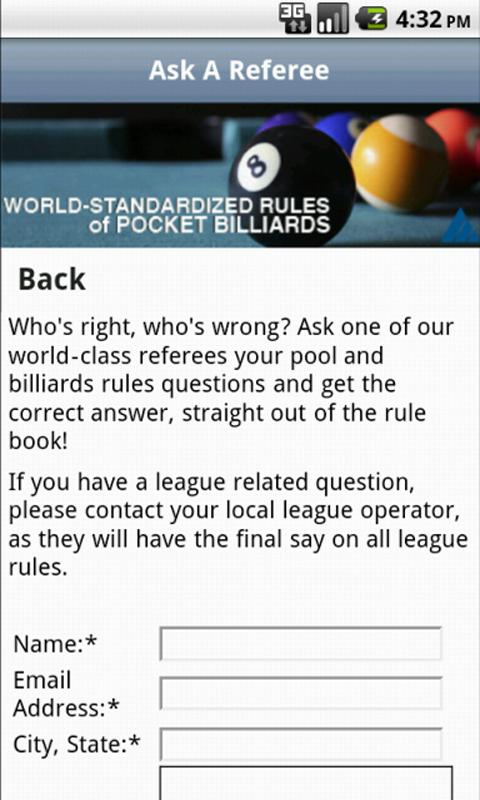 Official Billiard Rules Lite - screenshot