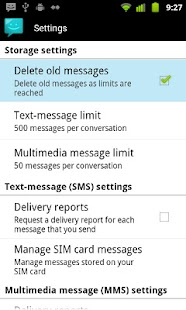 Messaging Lite G- screenshot thumbnail