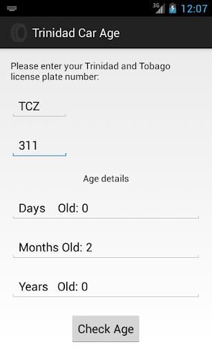 Trinidad Car Age