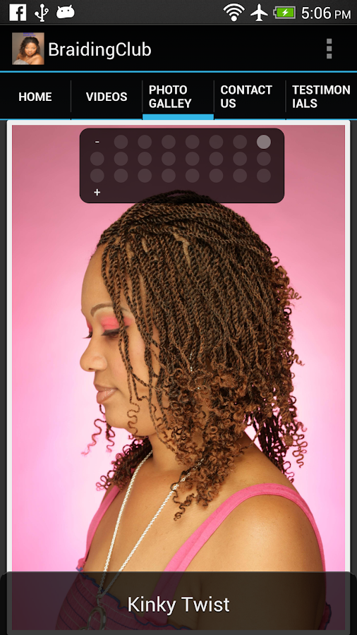 Braiding Club- screenshot