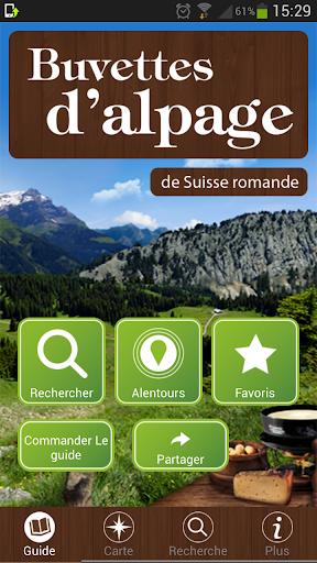 Buvettes d'alpage de Suisse