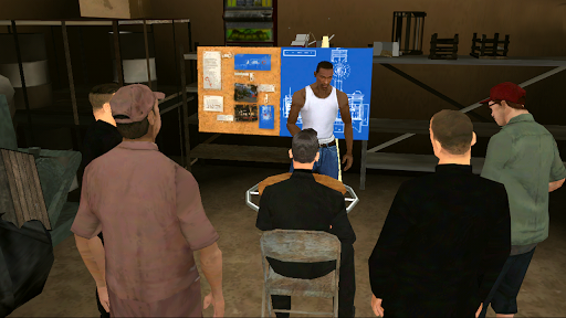 Grand Theft Auto: San Andreas Igre za Android screenshot